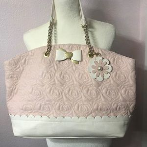 Betsey Johnson Bag with wristlet